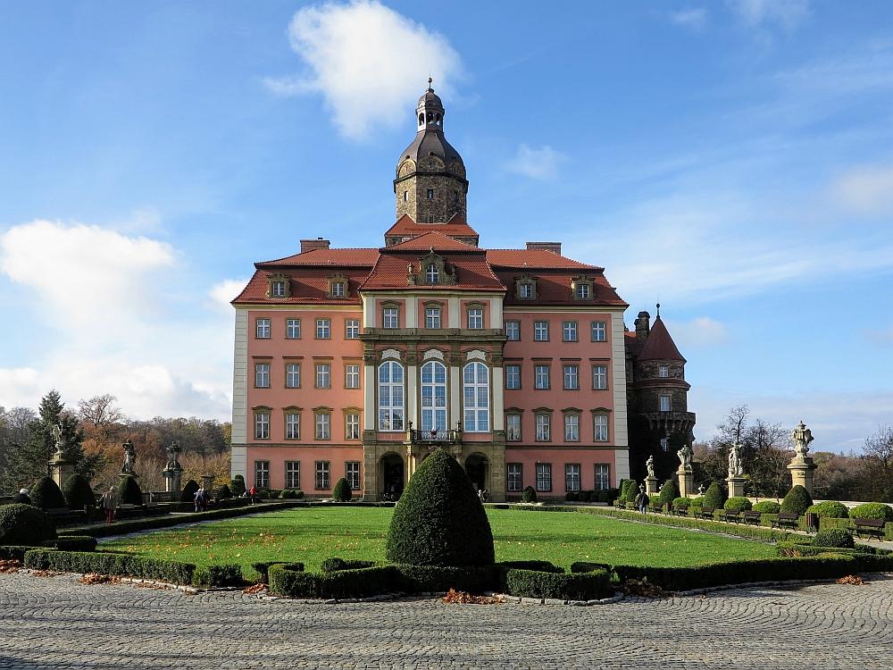 Schlösser und Herrenhäuser in Niederschlesien